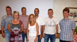 Vorstandschaft Schwimmbadfreunde Neukirchen