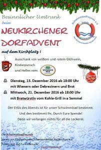 Neukirchner Dorfadvent 2016