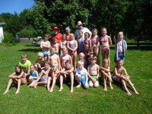 Schwimmabzeichen für die Schule Neukirchen