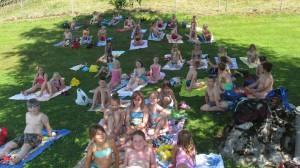 Schulschwimmen Schimmbad Neukirchen